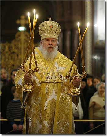 Слово Патриарха на освящение собора