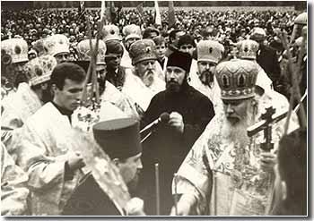Закладка возрождаемого Казанского собора