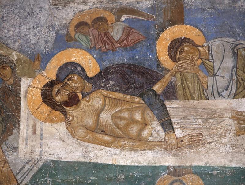 оплакивание христа-мирожский м-рь