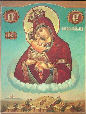 почаевская икона